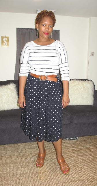 stripes & dots: Chic, Fashion Inspiration, Stripes, Dots, Blogger Style