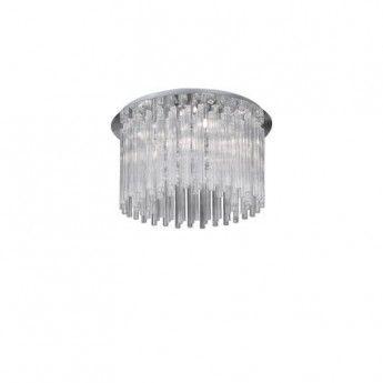 Nowoczesny szklany plafon z serii Elegant - producent Ideal Lux #elegant #Ideal_Lux #szklane_lampy #glass #modne_lampy #interior #desing #oświetlenie #lampy #lampy_kraków #sklep_abanet #abanet_kraków