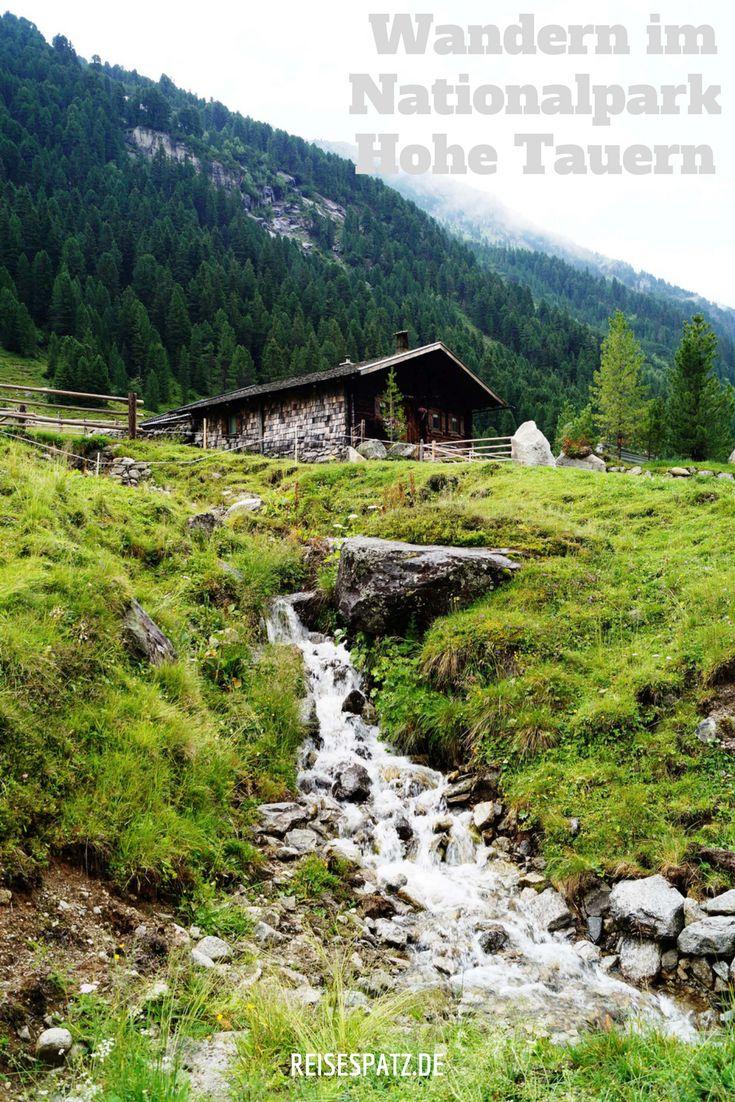 Wandern im Nationalpark Hohe Tauern und Besuch der Krimmler Wasserfälle. Alle Tipps für ein Wochenendbesuch!