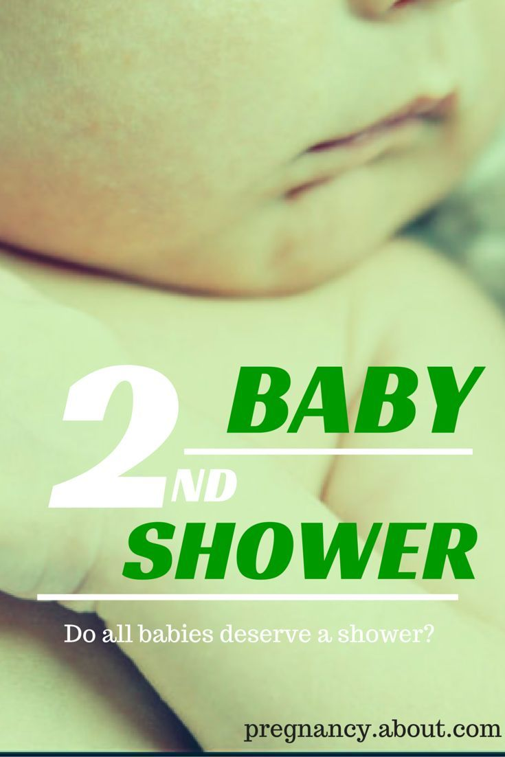 Nothing causes a stir like talking about a second baby shower. There are people in both camps. Here's a look at some of the arguments for and against.