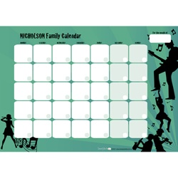 Wipeable Calendars available in loads of different designs and colours.