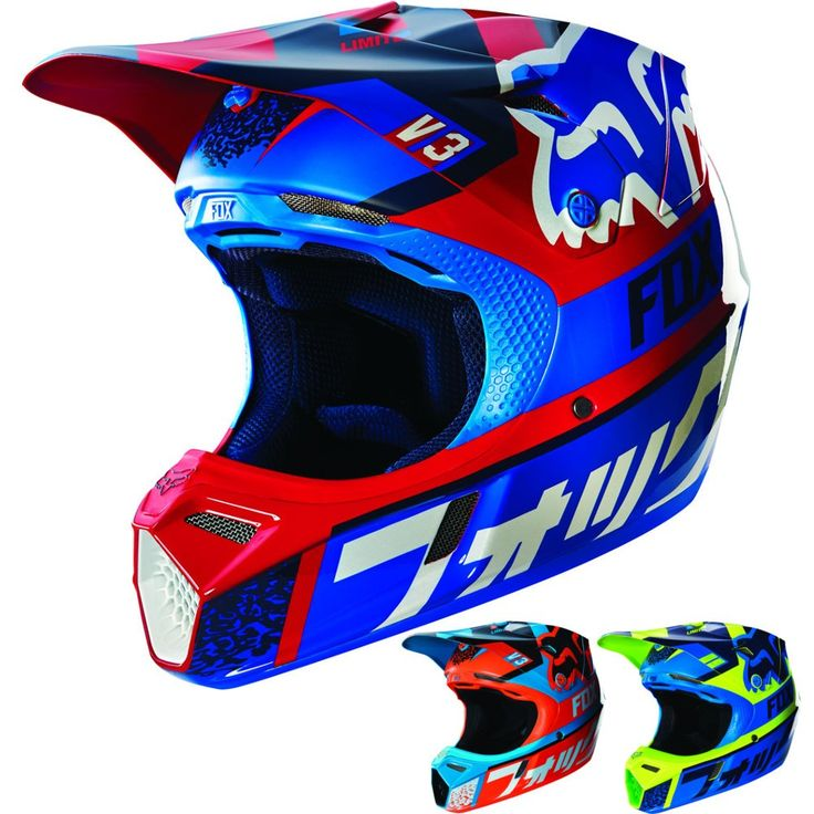 Fox Racing V3 Divizion w/MIPS Youth Dirt Bike Off Road Motocross Helmets