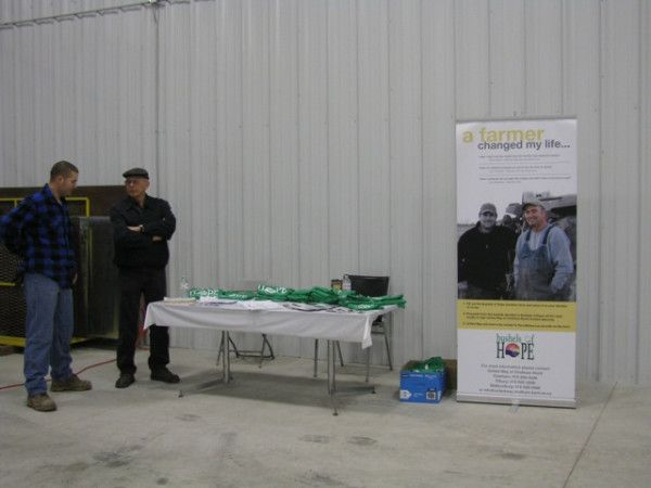 Thanks to those who supported Bushels of Hope at Devolder Farms warehouse grand opening #ontag