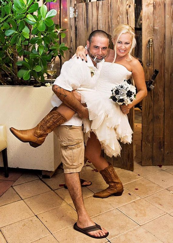 Robe de mariée courte en dentelle mariage de par AliceSiouxBridal