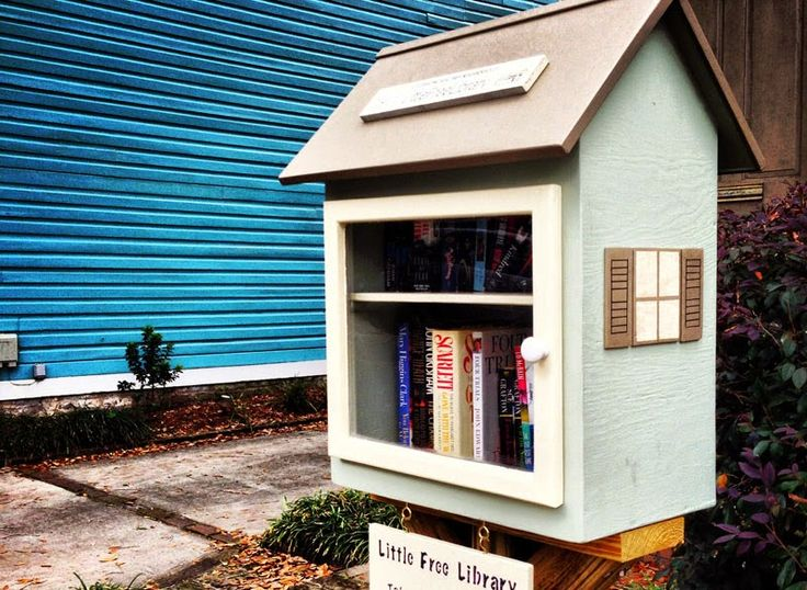 Crea tu Little Free Library o pequeña biblioteca gratuita