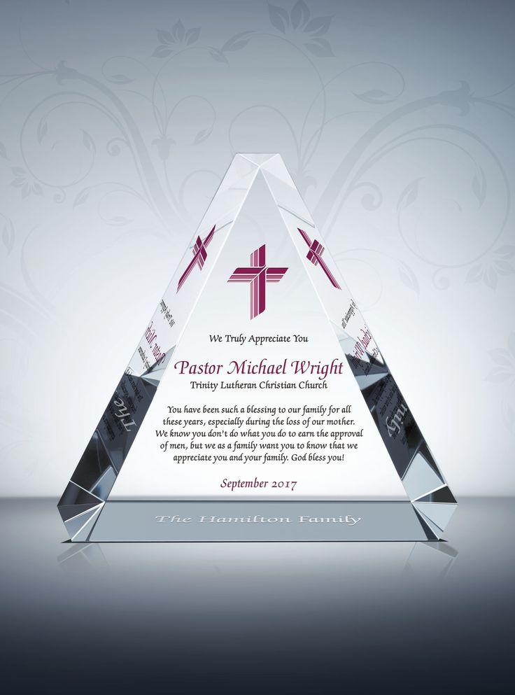 appreciation plaque for pastors  priests  deacons