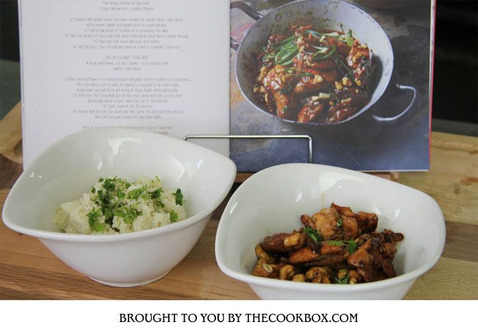 Kung Poa Chicken from The Real Meal Revolution