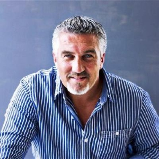 Paul Hollywood-- he's hot and he BAKES