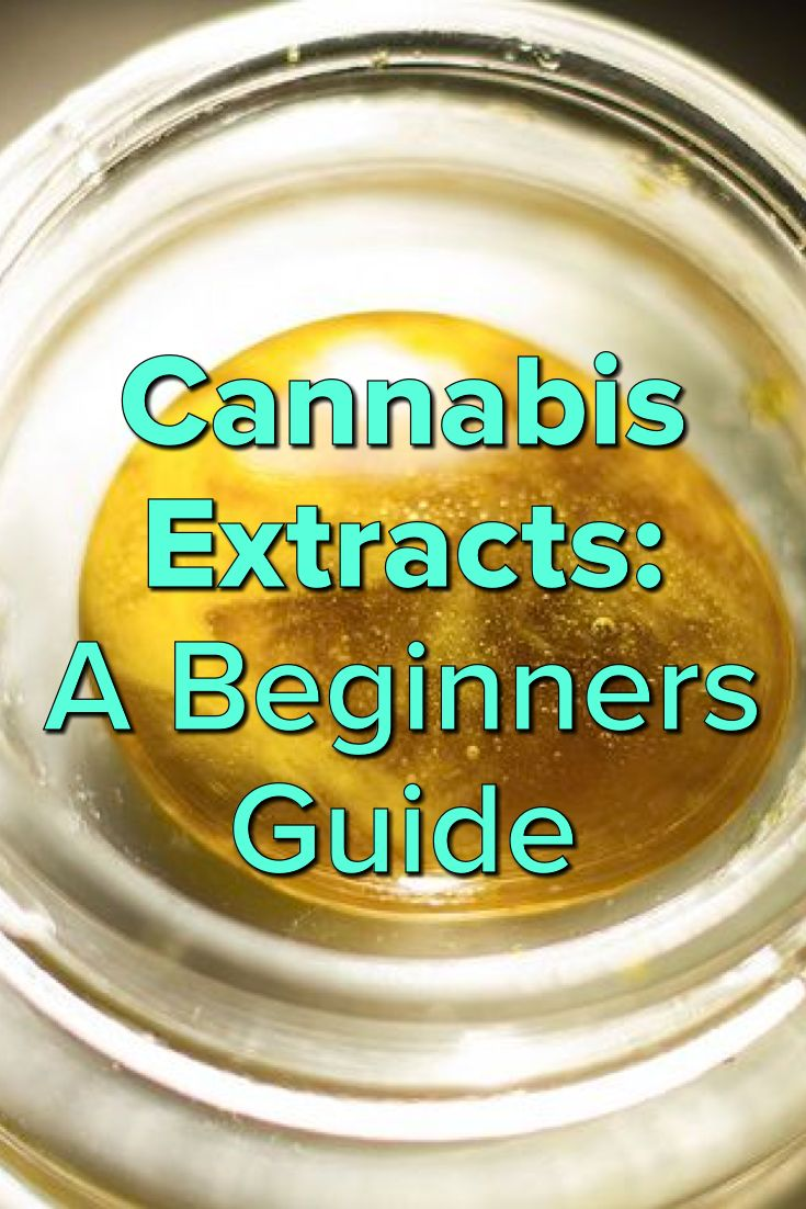 Cannabis Extracts: A Beginners Guide