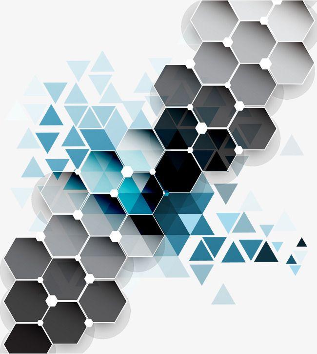 Vetor De Fundo Colorido Geometric Pattern Art Geometric Background Hexagon Tattoo