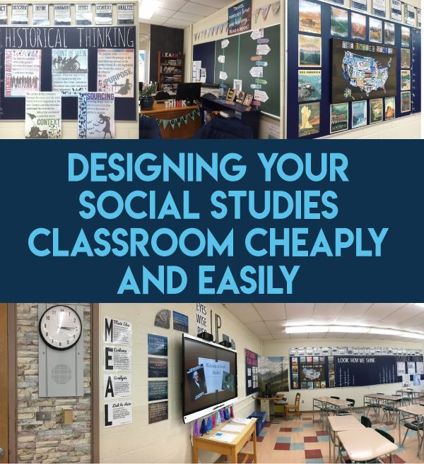 Want to improve the look of your classroom without spending too much money yours…