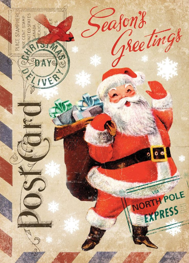 Paulo Viveiros: Vintage Ephemera Christmas Designs; not sure if they are for free download, since they don't come up as a PDF file when you click on them, but all of the designs are gorgeous!