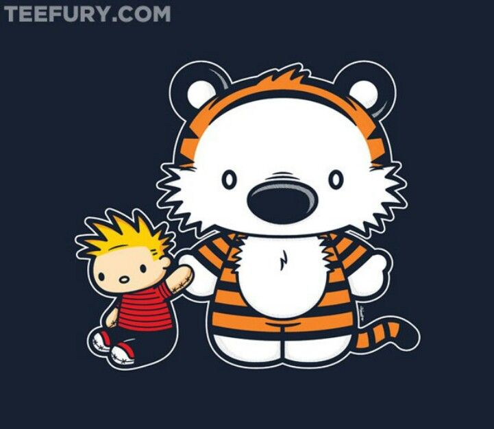 calvin and hobbes meet in dreams