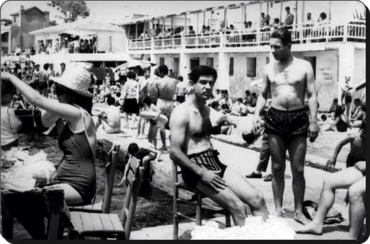 Bostancı plajı - 1959..Kadın & Erkekler olacak iş mi? :)))