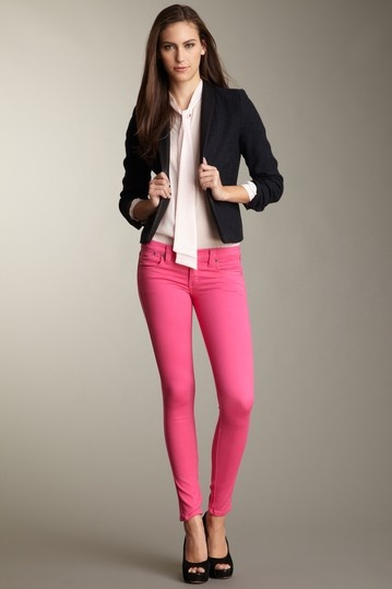 1000  ideas about Pink Skinny Jeans on Pinterest | Spring clothes
