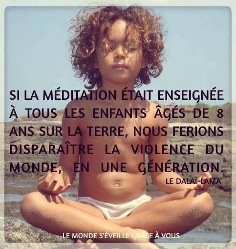 Méditer : Encouragez les enfants à méditer avec ces four conseils
