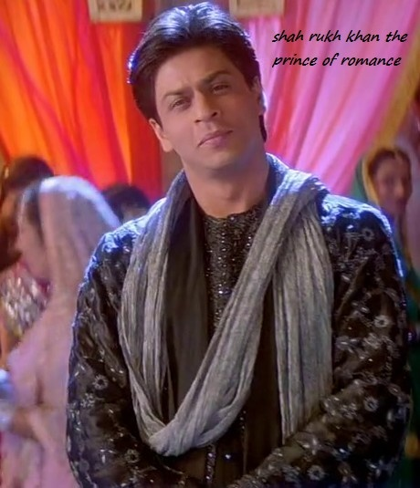 Prince of Romance-and the handsomest man on the planet   SRK - Scene from Kahbi Khushi Kabhie Gham (2001)