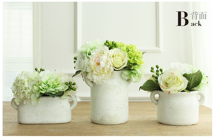 Nice Artificial Flowers In Vase For Sale Online