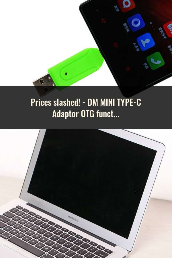 Dm Mini Type C Adaptor Otg Function Turn Normal Usb Into Type C Usb Flash Drive Wifi Extender Otg Bluetooth Dongle