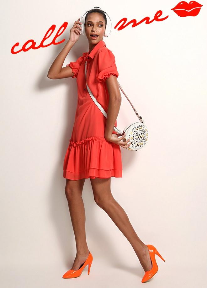 Jus De Pommes Düğmeli elbise Markafoni'de 99,99 TL yerine 29,99 TL! Satın almak için: http://www.markafoni.com/product/3520099/