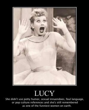 Lucy was Legit!