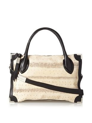 60% OFF Foley + Corinna Women's Framed Satchel, Roccia Watersnake, One Size