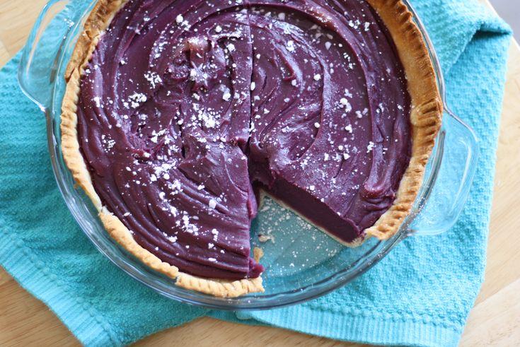 the purple sweet potato pie of my dreams!