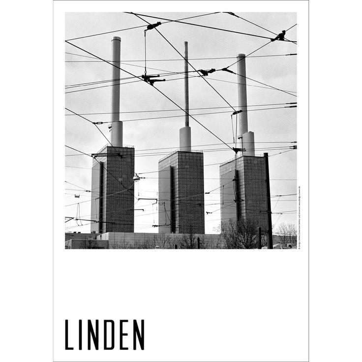 Hometown Hannover Poster Linden Stadtwerke Design Zimmer