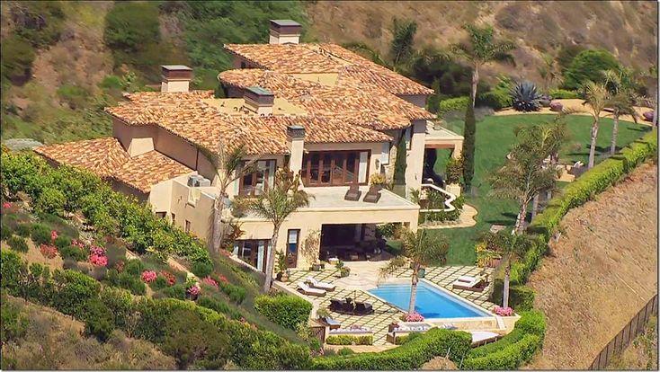 Yolanda & David Foster Malibu Home