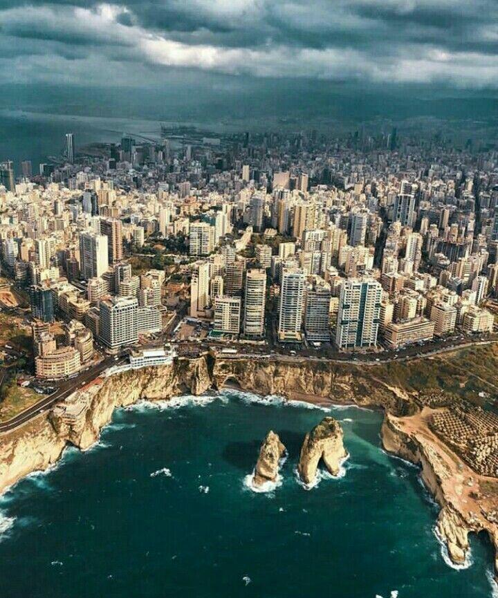 Rawcheh Beyrouth Liban | Beyrouth liban, Beyrouth, Liban