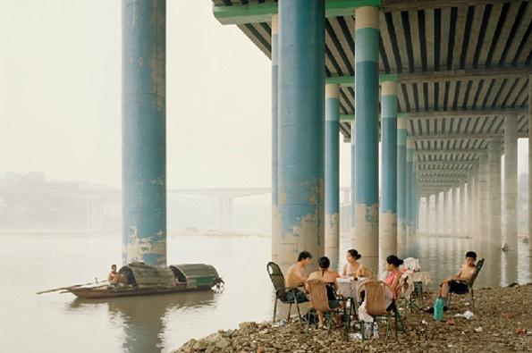 Nadav Kander: Chongqing IV (Sunday Picnic), Chongqing Municipality