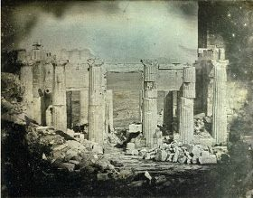 Joseph-Philibert Girault de Prangey Athens - Propylaeum 1842