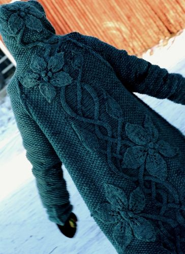 Love this sweater-jacket! awe in jewel tone! sylvi by illu, via Flickr