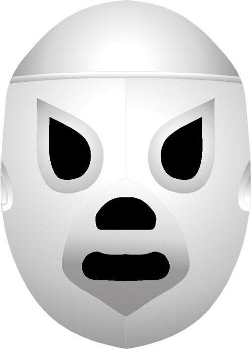 Mascara del El Santo