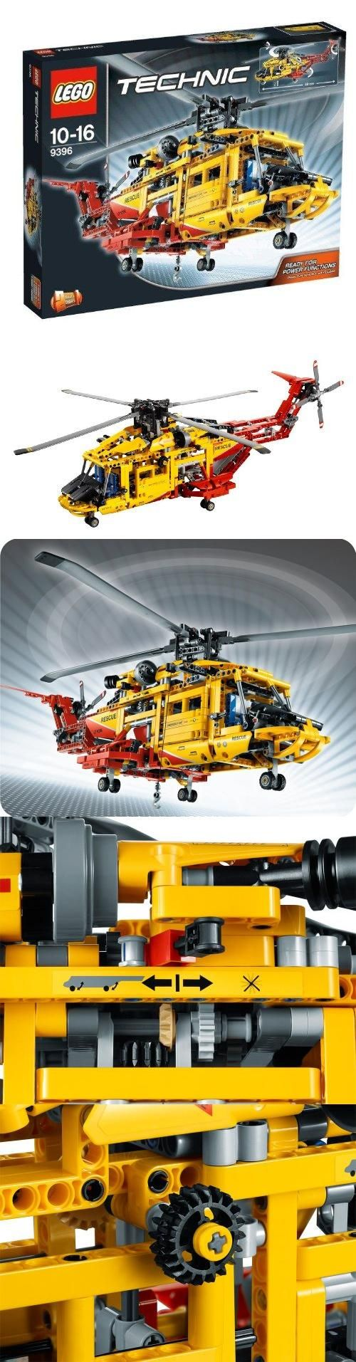 LEGO Technic Helicopter 9396, LEGO Technic Helicopter 9396 - wish I owned it!!!