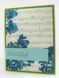 Maddiebug Designs - Heartfelt Thoughts - Stampin' Up!, Heartfelt Blooms (SAB 2018), Sheet Music