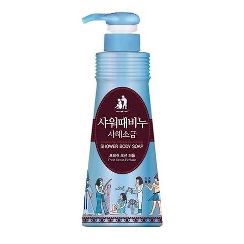 Mukunghwa Shower Body Soap Fresh Ocean Perfume 500 ml