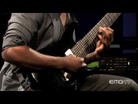 ▶ Tosin Abasi gives flawless live performance, Song of Solomon on EMGtv - YouTube