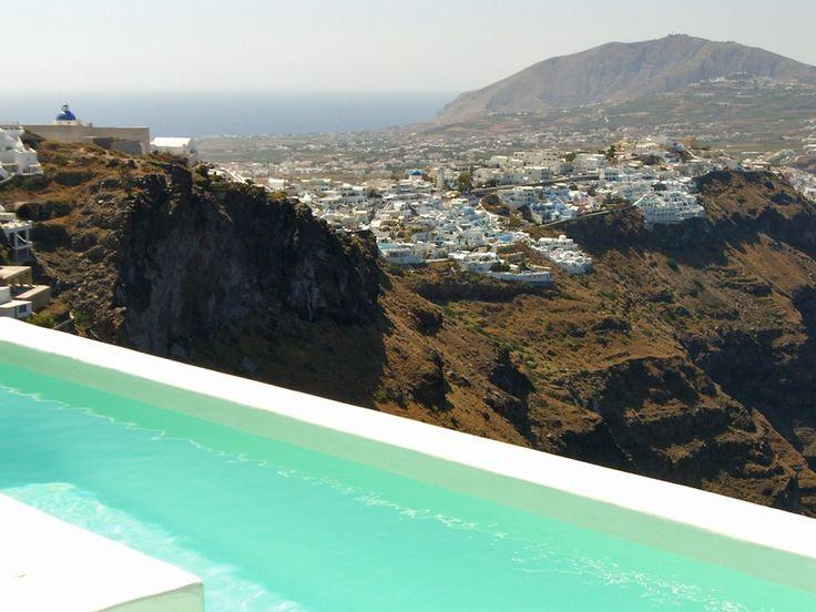 Good Morning from Santorini! At Alexander Villas