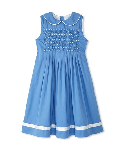 Rachel Riley Girl's Pleated Smock Dress at MYHABIT