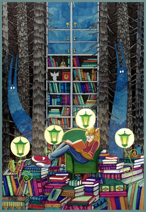 Vargnatts bokhylla: Flytt-tankar från en boknörd