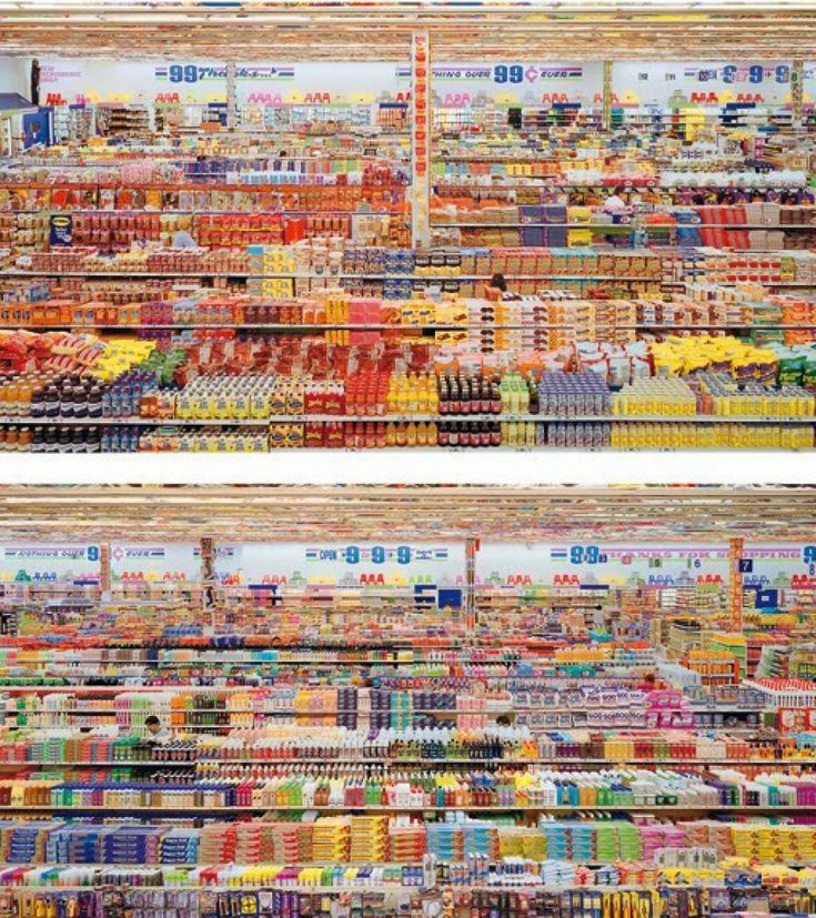 andreas gursky 99 cent ii diptychon - Google Search