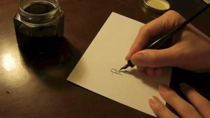 """Über 1.000 Ideen zu """"Modern Calligraphy Tutorial auf Pinterest ..."""