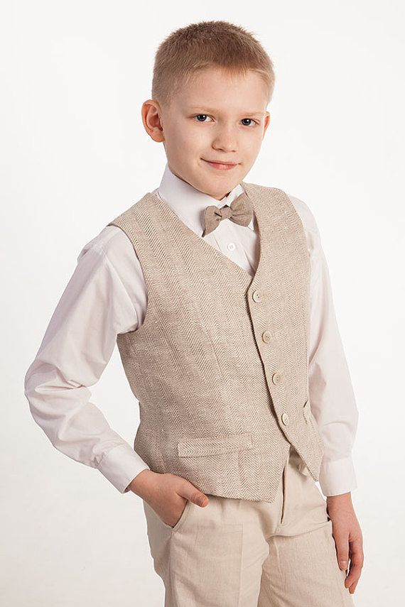 Wedding Party Ring Bearer Boy Suit Kids Boy Clothing