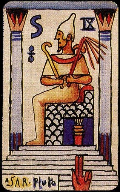Xul Solar - Carta del Tarot 03