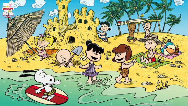 summer Snoopy )) YAY! Pinterest The peanuts, Summer