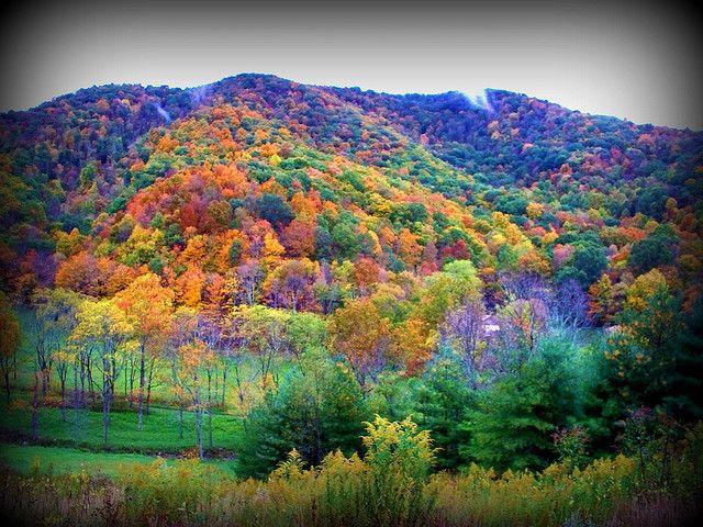 West Virginia in October