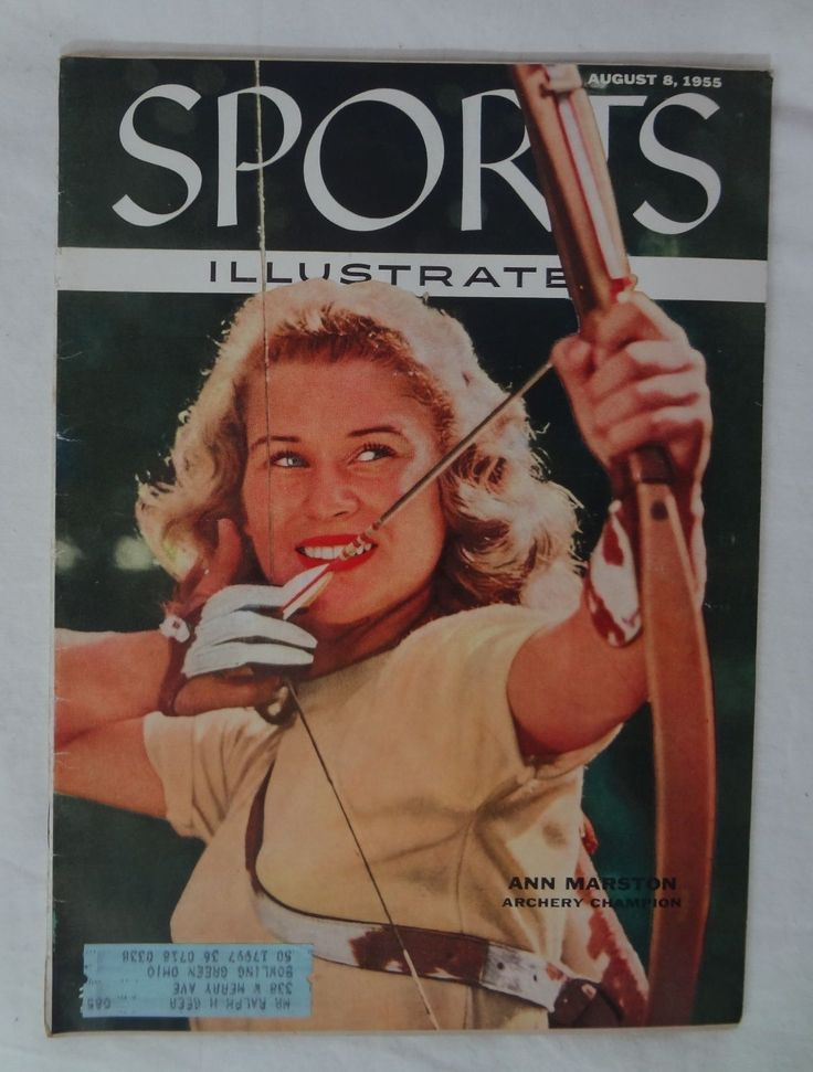Sports Illustrated SI Magazine August 8 1955