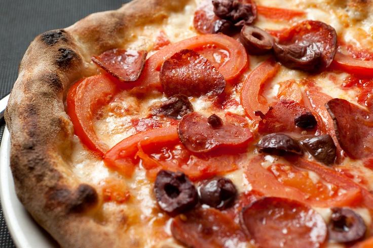 pizza con salamino piccante