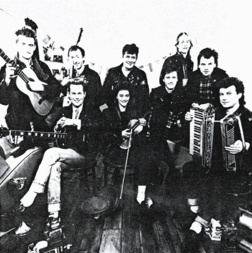 The Mekons.  Fish out the gems from the angry headbanging punk...the songs featuring Blondie-soundalike singer Sally Timms are choice.  Try http://spoti.fi/xREPtg